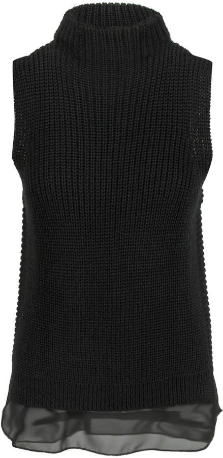 Bishop + Young Mock Neck Sweater Tank