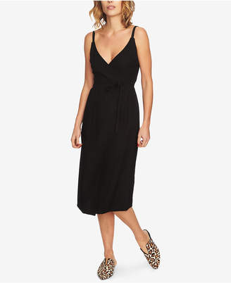 1 STATE 1.state Spaghetti-Strap Wrap Dress