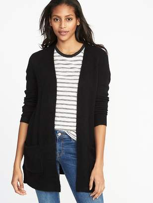 a80ed6cfd2b at Old Navy · Old Navy Plush-Knit Long-Line Open-Front Sweater for Women
