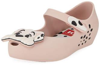 Mini Melissa Ultragirl + 101 Dalmatians Mary Jane Flats, Toddler