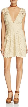 Free People One Million Lovers Lace Dress $128 thestylecure.com