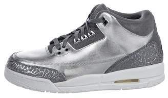 Jordan 2017 3 Retro Premium HC Sneakers w/ Tags