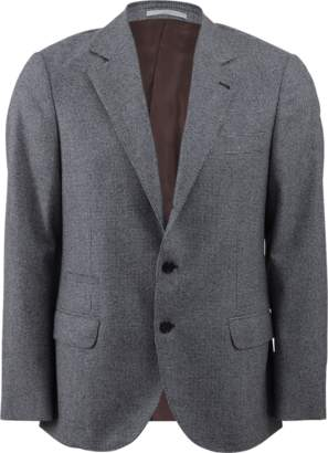 Brunello Cucinelli Check Suit Jacket