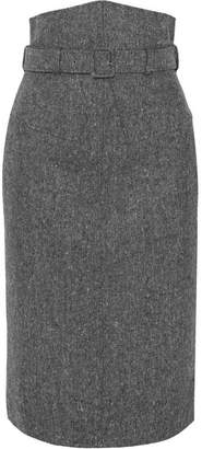 Antonio Berardi Wool-tweed Pencil Skirt - Gray