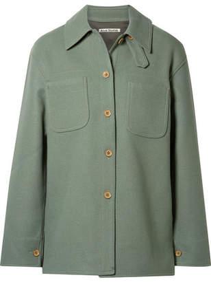 Acne Studios Odenna Wool-blend Jacket - Green
