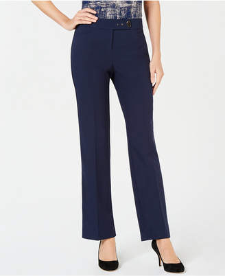 JM Collection Embellished Extend-Tab Pants