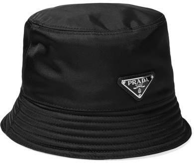Prada - Shell Hat - Black