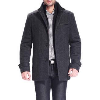 Blend of America BGSD Men's Herringbone Wool Car Coat