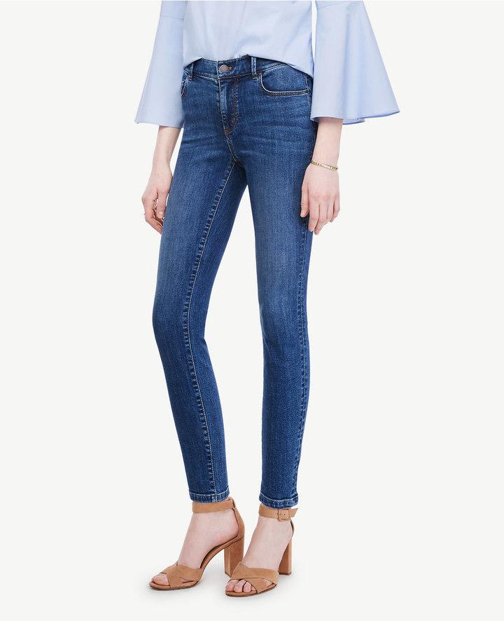 Ann TaylorPetite Modern Skinny Ankle Jeans