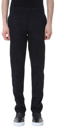 Kenzo Chinos Black Cotton Pants