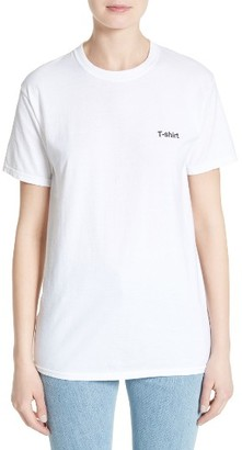 Women's Vetements X Hanes Oversize Tee $125 thestylecure.com