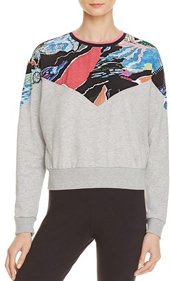 adidas Originals Printed Sweatshirt $60 thestylecure.com