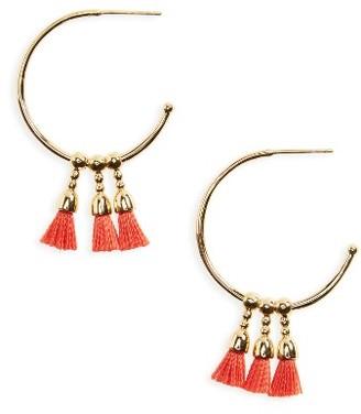 Women's Gorjana Baja Hoop Earrings $45 thestylecure.com
