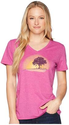 Life is Good Simplify Outside Cool Vee Tee Women's T Shirt