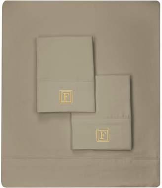 Luxor Linens Martano 600 TC Monogram Sheet Set (Full)