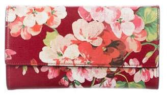 Gucci Blooms Continental Wallet multicolor Blooms Continental Wallet
