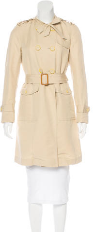 3.1 Phillip Lim 3.1 Phillip Lim Silk-Blend Trench Coat
