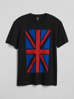 Gap Graphic Short Sleeve Crewneck T-Shirt
