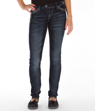 Silver Tuesday Mid-Rise Skinny Stretch Jean $88 thestylecure.com