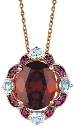 LeVian Le Vian 14K Rose Gold 5.97 Ct. Tw. Gemstone Necklace