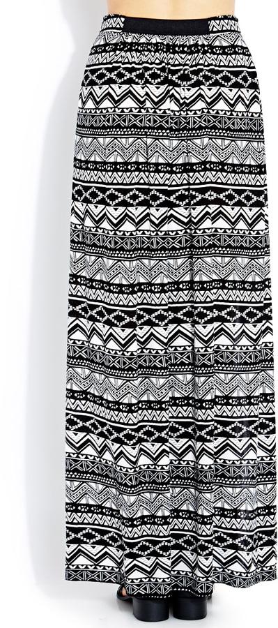 Forever 21 Voyager Maxi Skirt