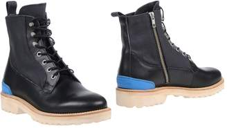 Leather Crown Ankle boots - Item 11438274