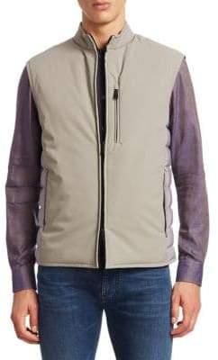 Emporio Armani Zip-Front Puffer Vest