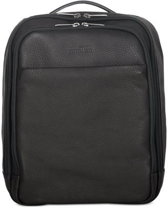 Kenneth Cole Reaction Colombian Leather Computer Backpack $500 thestylecure.com