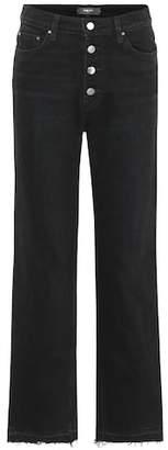 Amiri High-rise straight-leg jeans