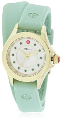 Michele Cape Mini Silicone Ladies Watch MWW27B000002