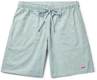 Battenwear Active Lazy Linen And Cotton-Blend Drawstring Shorts