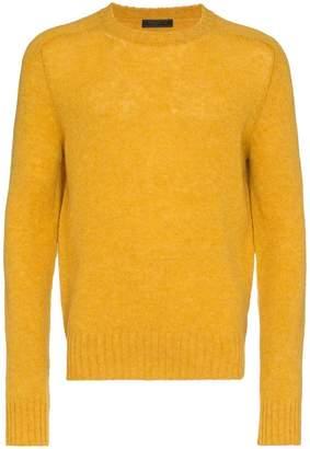 Prada shetland wool jumper