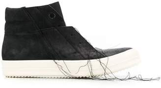 Rick Owens stitching detail sneakers