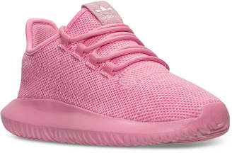 adidas Girls' Tubular Shadow Knit Casual Sneakers from Finish Line $69.99 thestylecure.com