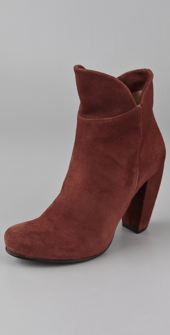 Coclico Shoes Capote Suede Ankle Booties
