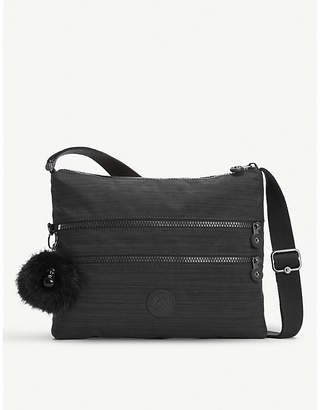 Kipling Ladies Dazz Black Practical Alvar Nylon Shoulder Bag
