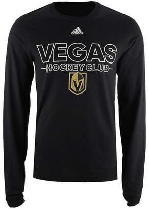 adidas Men's Vegas Golden Knights Frontline Long Sleeve T-Shirt