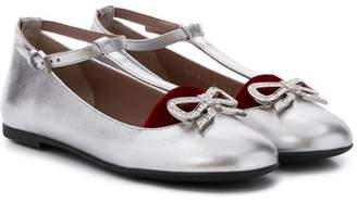 Gucci Kids ballerina shoes