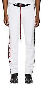 Amiri Men's Logo-Print Cotton Track Pants - White