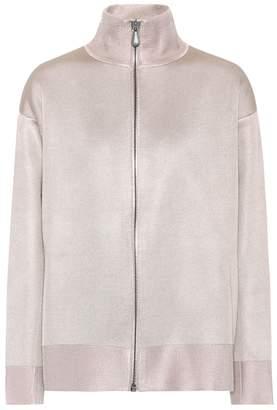 Bottega Veneta Wool and silk jersey jacket