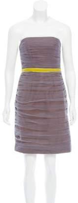 Jason Wu Strapless Ruched Dress