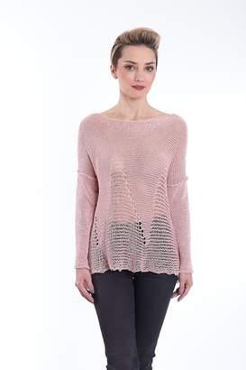Bk Moda Pink Knit Top