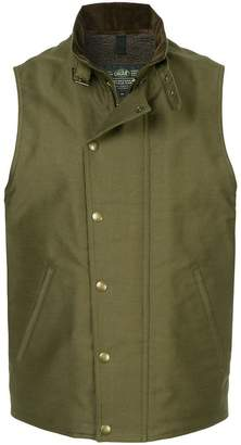 Addict Clothes Japan press stud Boa vest