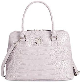 Giani Bernini Crocodile Dome Satchel