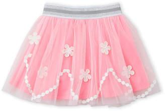 Baby Sara Girls 4-6x) Floral Mesh Tutu Skirt