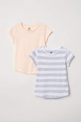 H&M 2-pack T-shirts - White