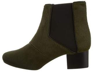 Maiyet Ponyhair Ankle Boots