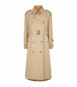 Burberry Cotton Gabardine Reconstructed Car Coat