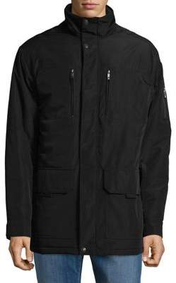 Weatherproof Woven Utility Jacket
