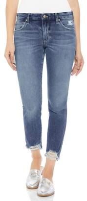 Joe's Jeans Smith Distressed Crop Straight Leg Jeans